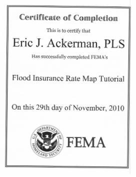 References - Elevation Certificate Surveys